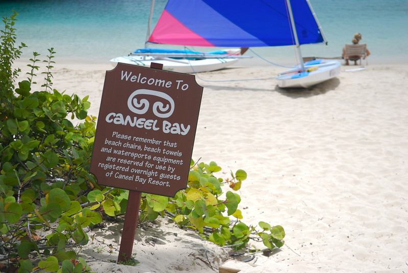 Caneel Bay Resort beach