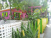 Colorful Caribbean... Cruz Bay village shop.