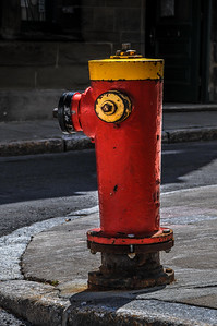 Quebec Fire Hydrant