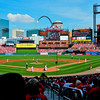 Busch Stadium: St.Louis Cardinals vs Atlanta Braves. Thanks for the Tickets, Great seats.