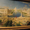 Painting of the 1904 St Louis World's Fair.  Similarity to the 1893 Chicago World's Fair is obvious.