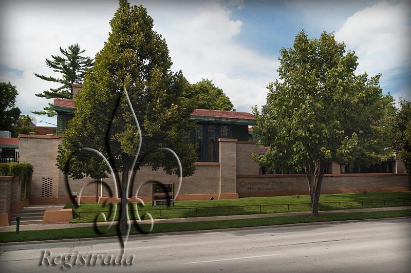 Frank Lloyd Wright's Dana House (1902), Springfield, IL