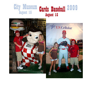 St Louis - City Museum/Cards Game - August 15, 2009