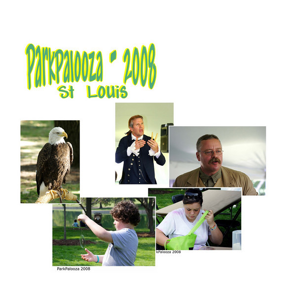 Celebrate National Public Lands Day at ParkPalooza, a two-day interactive event on the grounds of the Gateway Arch from 10:00 a.m. to 4:00 p.m. on Saturday and Sunday, September 27 and 28, 2008.