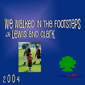 St Louis - We Walked In The Footsteps Of Lewis And Clark - May 16 - 17 , 2004