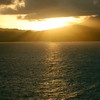 The Sunrise from Serenade of the Seas while arriving in St Lucia 11/22/06