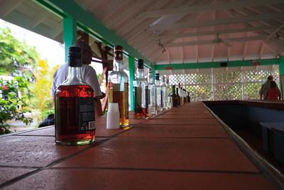 Rum Tasting, St Lucia Distilleries