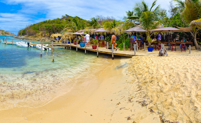 Lunch time on Pinel Island