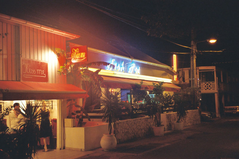 Main Street in Grand Case.