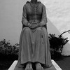 """Carved in Chicago in the likeness of Mexican actress Doris Del Rio who had starred in the silent movie """"Evangeline."""""""