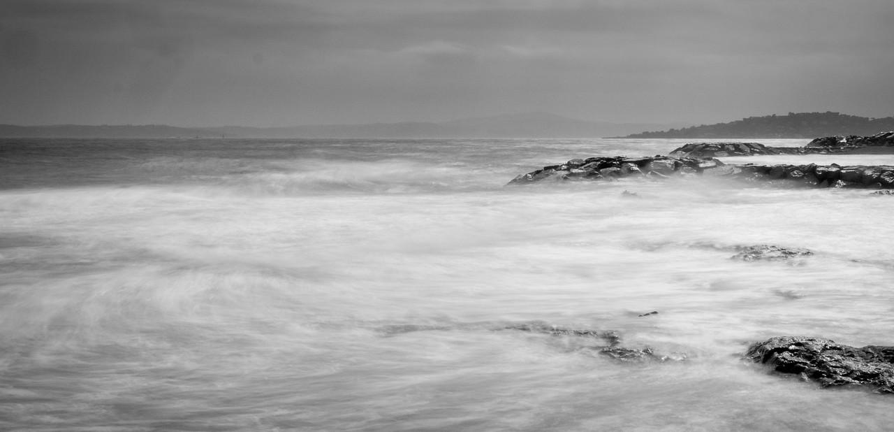 Rough seas at Les Issambres