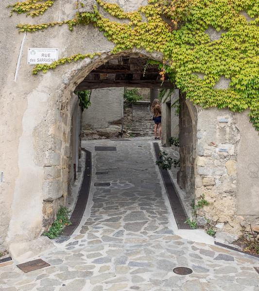 Entrance to Ramatuelle