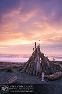 Gualala Point Beach Sunset - Sonoma Coast