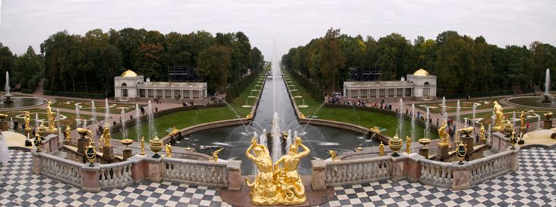 Peterhof panorama