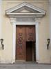 Doorway, the Catholic Church of St. Catherine of Alexandria, St. Petersburg