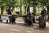 Marimba musicians at Peterhof gardens
