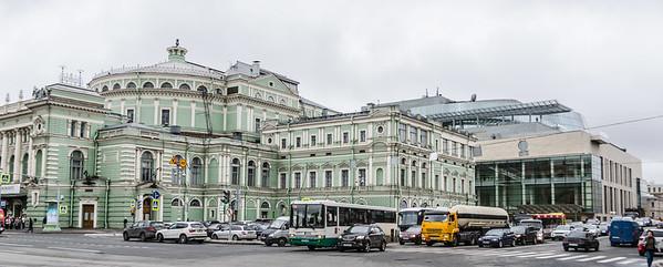 SPB Mariisnskiy & Environs