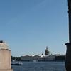 View across Bolshaya Neva Rive from Imperial Academy of Arts