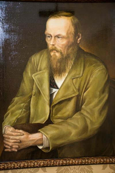 Painting of Fyodor Dostoevsky