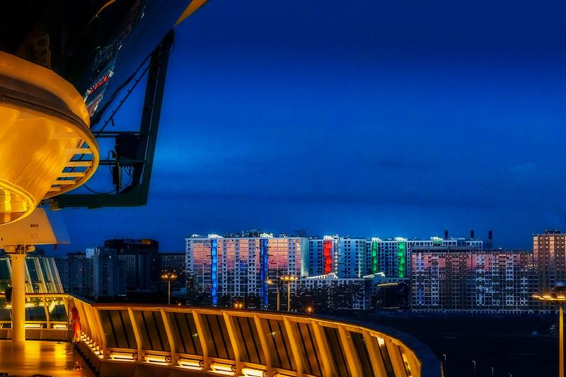 Saint Petersburg Blue Hour