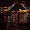 Bridge Opening on the Neva River