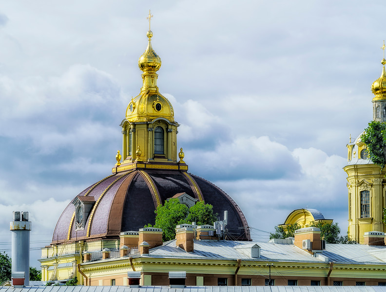 Domes of Peter and Paul Cathedral