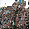 The Church of the Savior on Spilled Blood in St Petersburg, Russia.