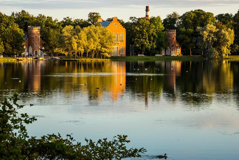 Tsarskoye Selo - Lake Scene