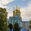 The Gold Domes of Tsarskoye Selo