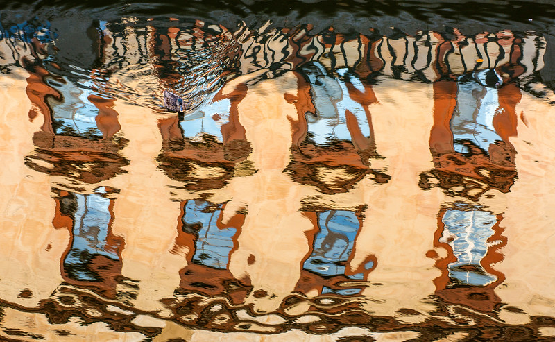Reflections in a Canal