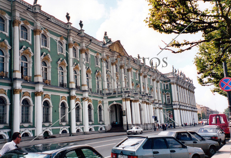 The Hermitage museum in St Petersburg, Russia.