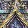 Detail on the Church of the Spilled Blood