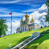 Peterhof's Grand Palace Church