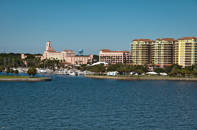 View Of the Vinoy Hotel  St Pete Fl  Oct 2011