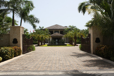 Entrance to St Regis, Plantation House, Bahia Beach, Puerto Rico