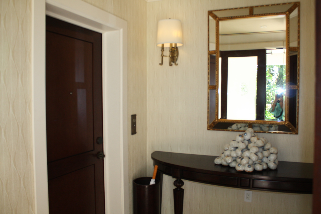 Entrance to suite