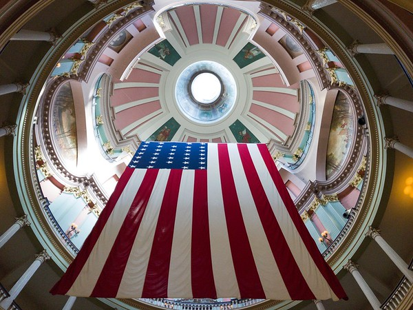 Old Courthouse Flag