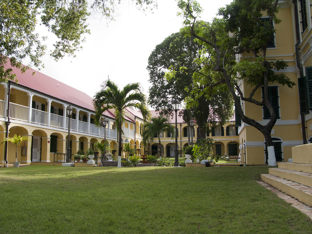 Government House in Christiansted. photo by Ted Davis