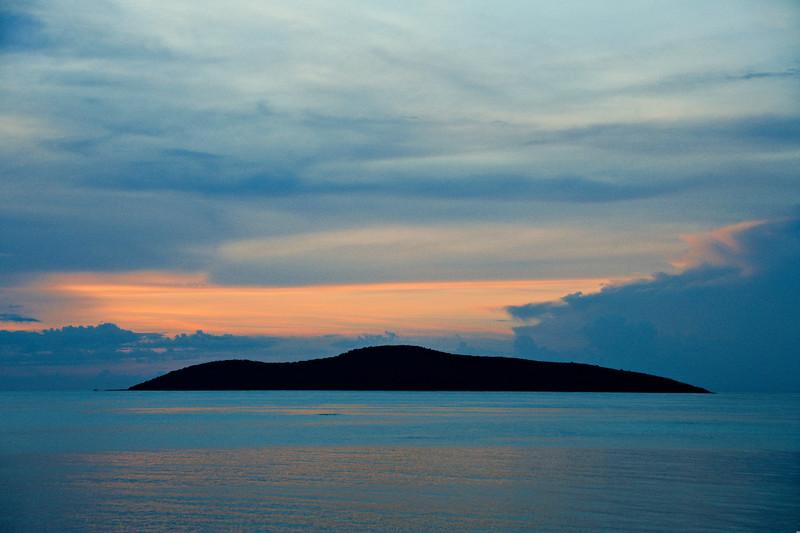 Buck Island Sunset
