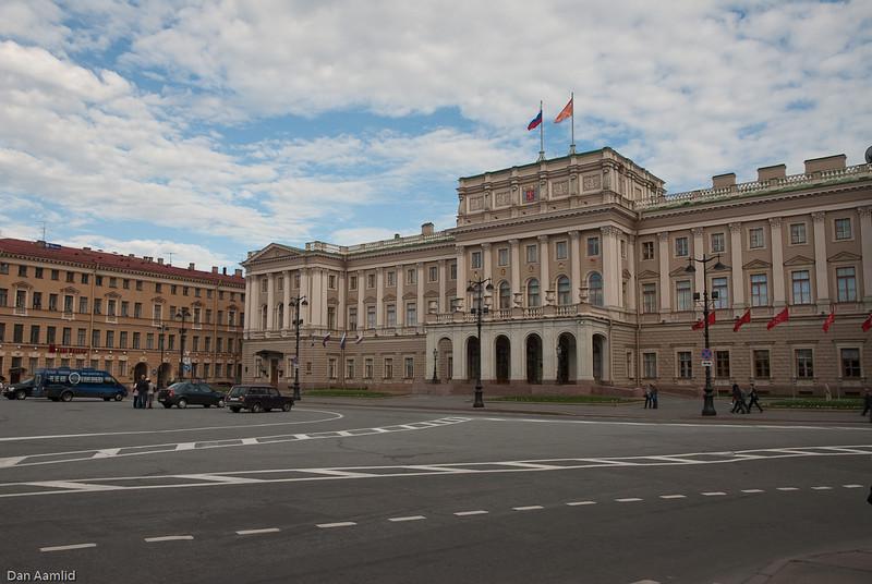 Saint Isaac's Square, St.Petersburg