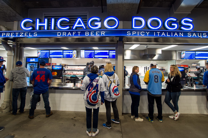 Chicago Dogs at Wrigley, Chicago Illinois