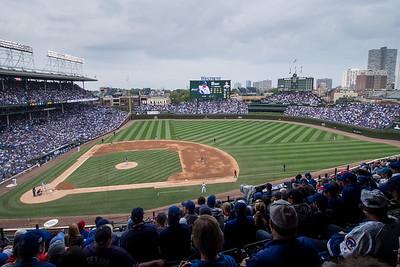 Game 163 at Wrigley, Chicago Illinois