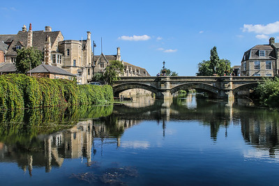 River Welland and Town Bridge, Stamford