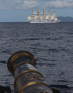 racing the Royal Clipper