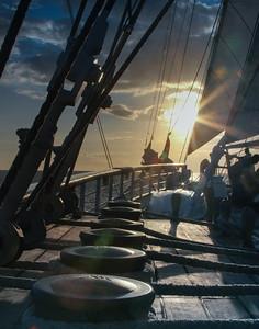 aboard the Star Clipper