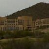 Front of the Starr Pass Resort. The day this picture was taken it was overcast.