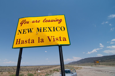State Sign New Mexico