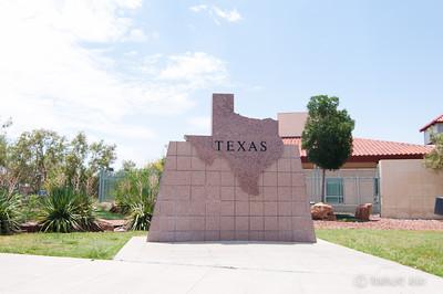 State Sign Texas USA
