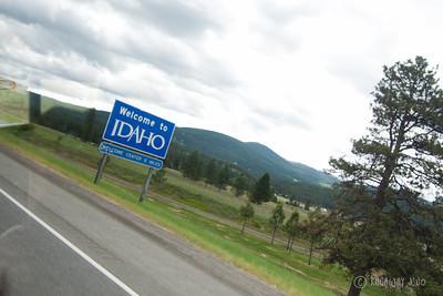 State Sign Idaho USA