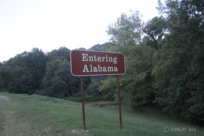 State Sign Alabama USA